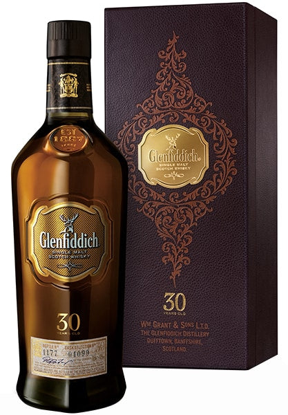Glenfiddich 30 Year Old Scotch Whisky