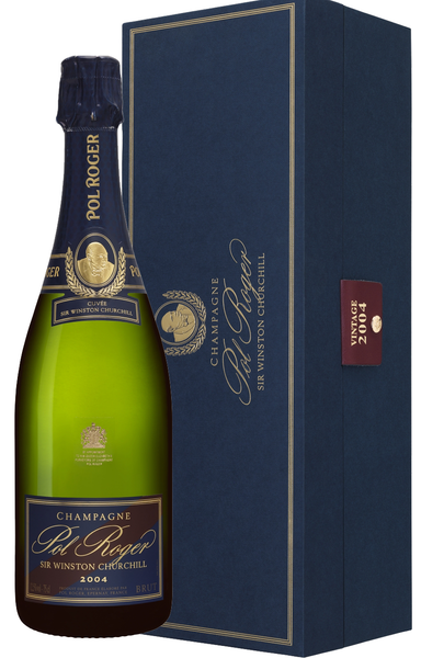 Champagne Pol Roger Sir Winston Churchill w/Gift Box 1998 / 2004