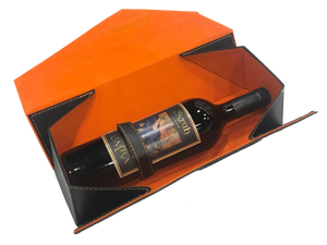 Wine Box - Foldable, Imitated Leather