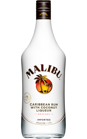 Malibu Caribbean Rum with Coconut
