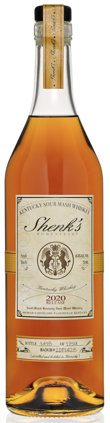 Shenk's Homestead (2020 Release) Kentucky Sour Mash Whiskey