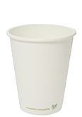 Vegware 6oz White Hot Cup
