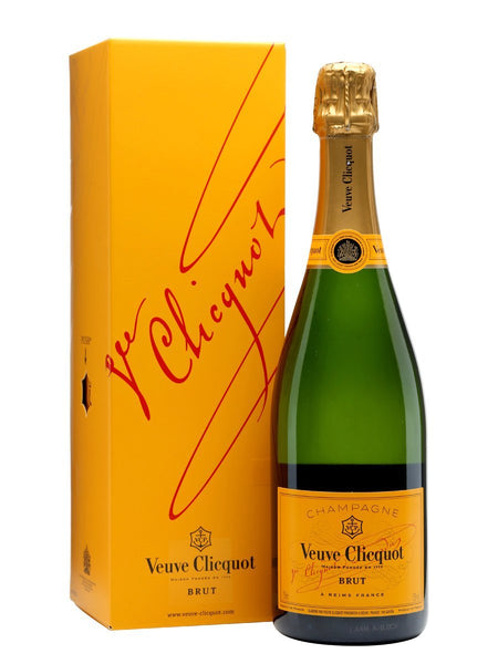 Champagne Veuve Clicquot Brut NV (with box / without box)
