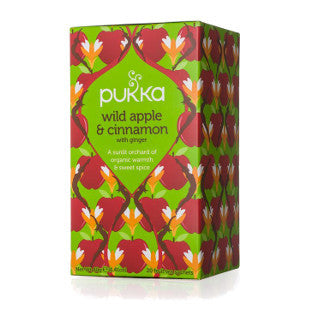 Pukka Wild & Apple Cinnamon Tea 野蘋果玉桂薑茶