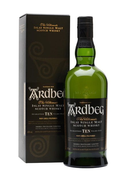 Ardbeg 10 Years Old Islay Scotch Whisky