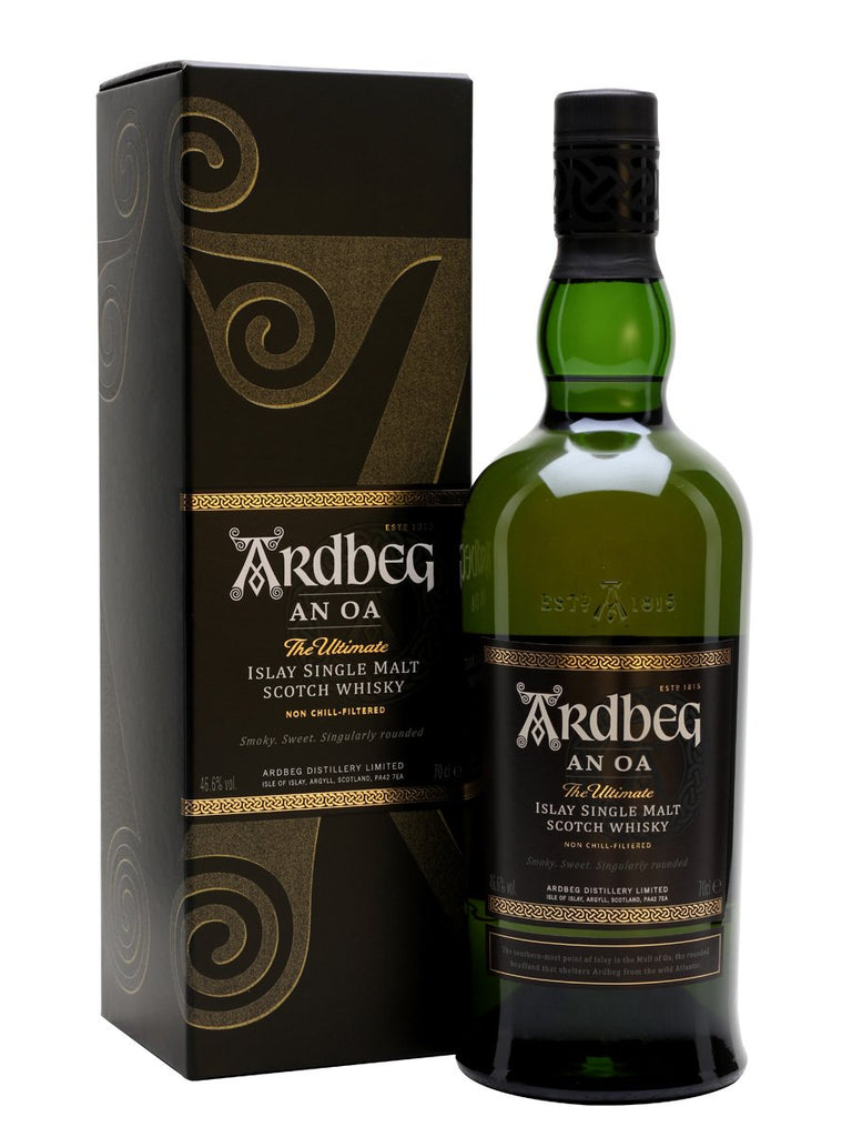 "Ardbeg ""An Oa"" Islay Scotch Whisky"