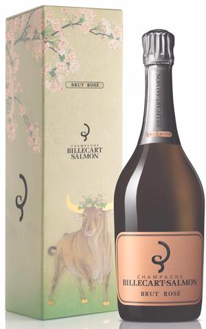 Champagne Billecart-Salmon Brut Rose CNY Ox Edition with giftbox (RP:90)