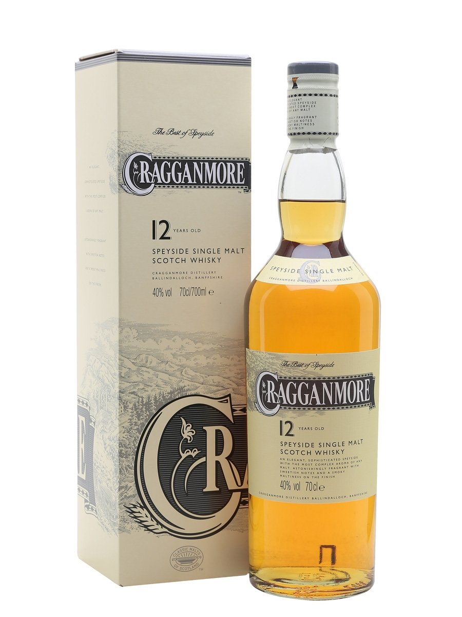 Cragganmore 12 Year Old Scotch Whisky
