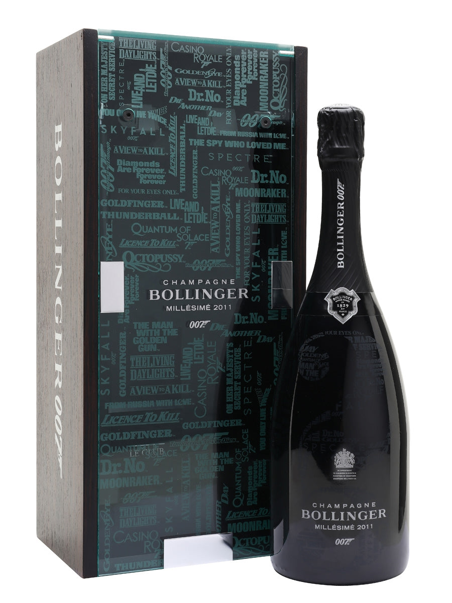 Champagne Bollinger 007 Limited Edition Millesime 2011 w/GiftBox