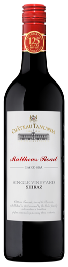 Chateau Tanunda Matthews Road Single Vinyard Shiraz 2015