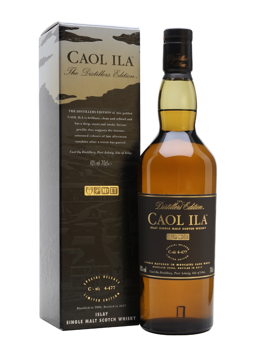 Caol Ila Distillers Edition 2006 Scotch Whisky (bottled 2017)