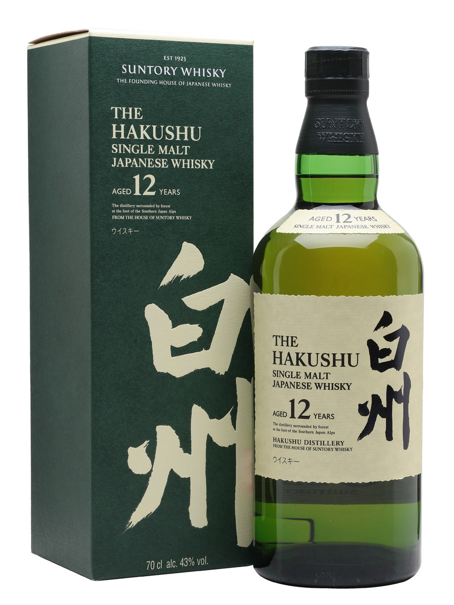 白州 Hakushu 12 Year Old Whisky