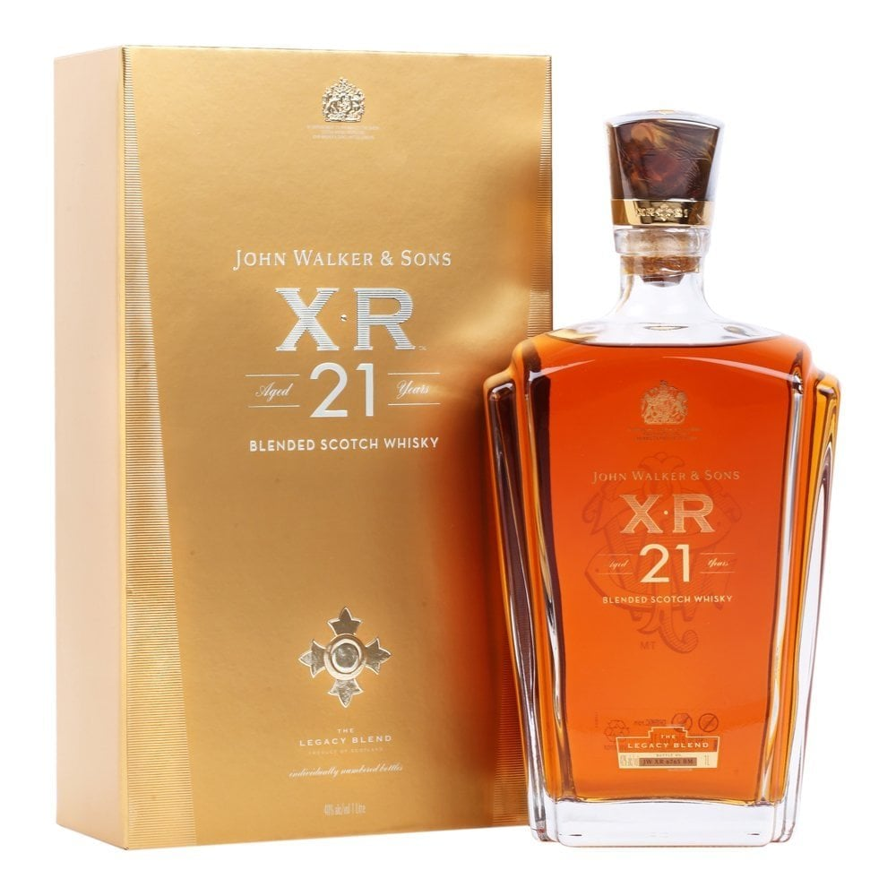 The John Walker & Sons XR 21 Year Old Scotch Whisky