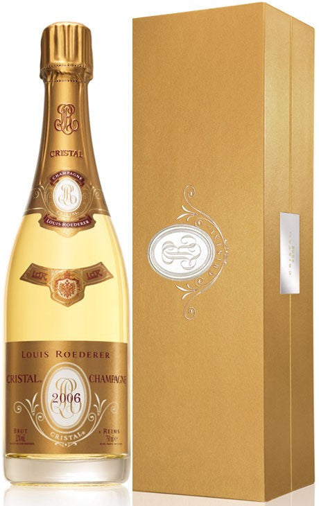 Louis Roederer Cristal 2006 with Gift Box (RP:93)