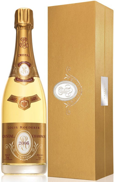 Champagne Louis Roederer Cristal 2006 with Gift Box (RP:93)