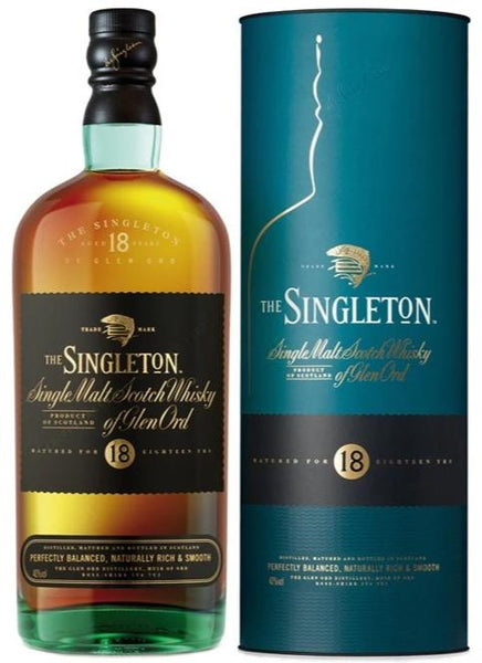 The Singleton Glen Ord 18 Year Old Single Malt Whisky