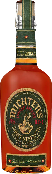 Michter's US*1 'Limited Release' Barrel Strength Kentucky Straight Rye Whiskey