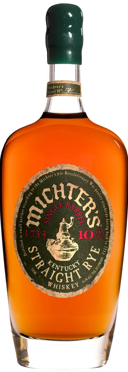 Michter's 10 Year Old 'Single Barrel' Kentucky Straight Rye Whiskey