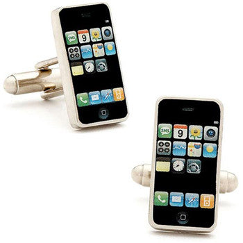 Cufflinks Iphone Black