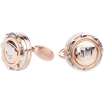 Manchetknopen Lancaster Crown Elements Rose Gold