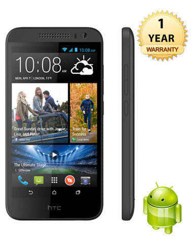 HTC Desire - 610 8 GB, 1 GB RAM ( Black )