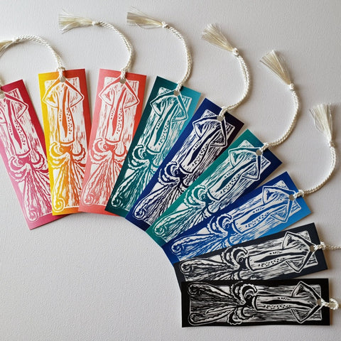 Squid Bookmark