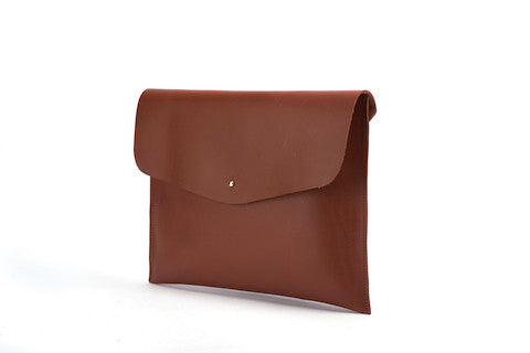The Leather Pouch Maroon