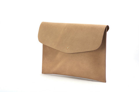 The Leather Pouch Khaki