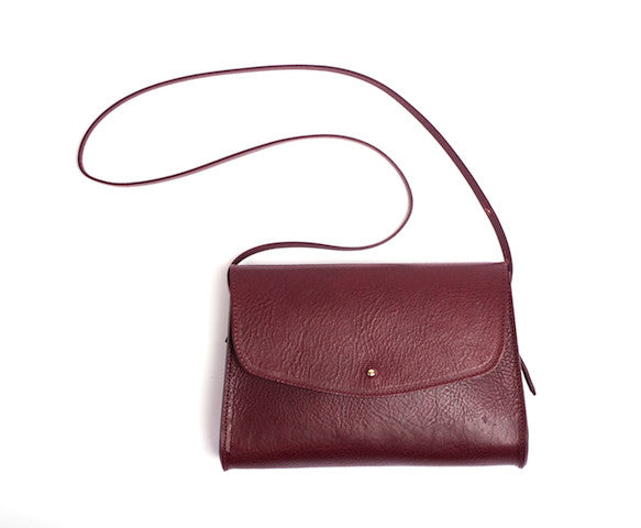 The Poppy Shoulder Bag Maroon