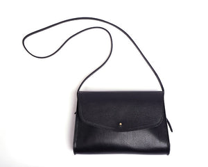 The Poppy Shoulder Bag Black