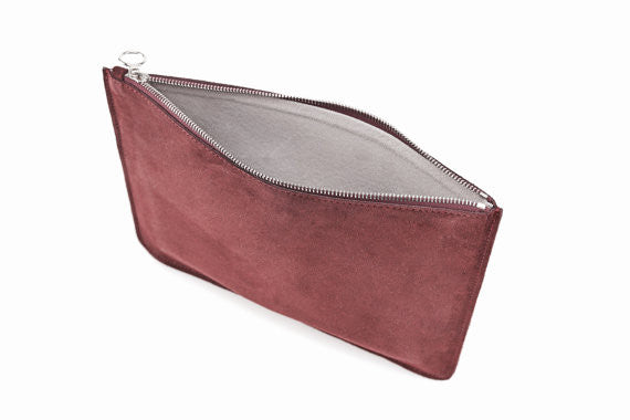 The Media Pouch Maroon