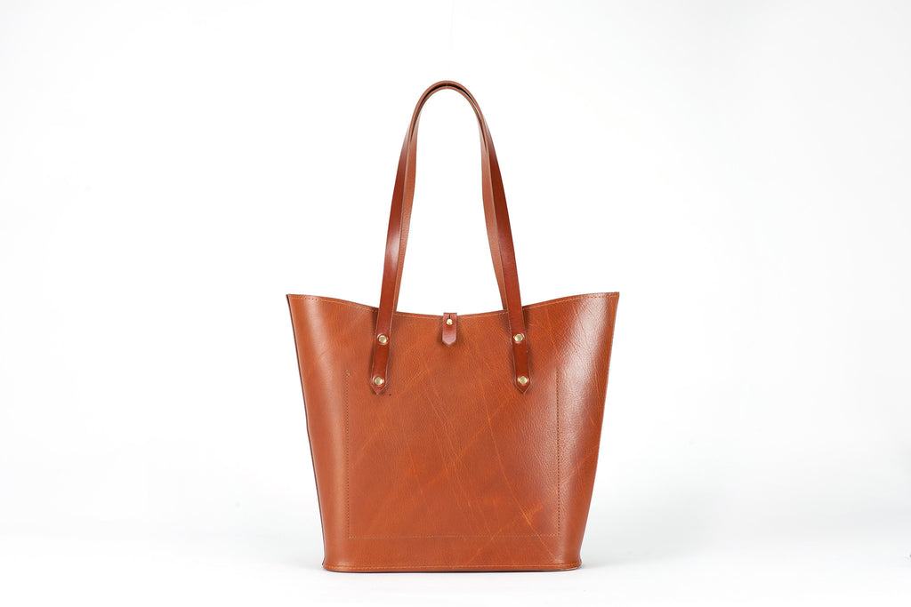 The Jessica Tote Tan