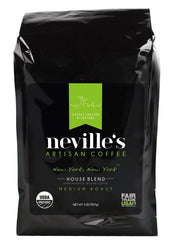 nevilles artisian house blend coffee ground