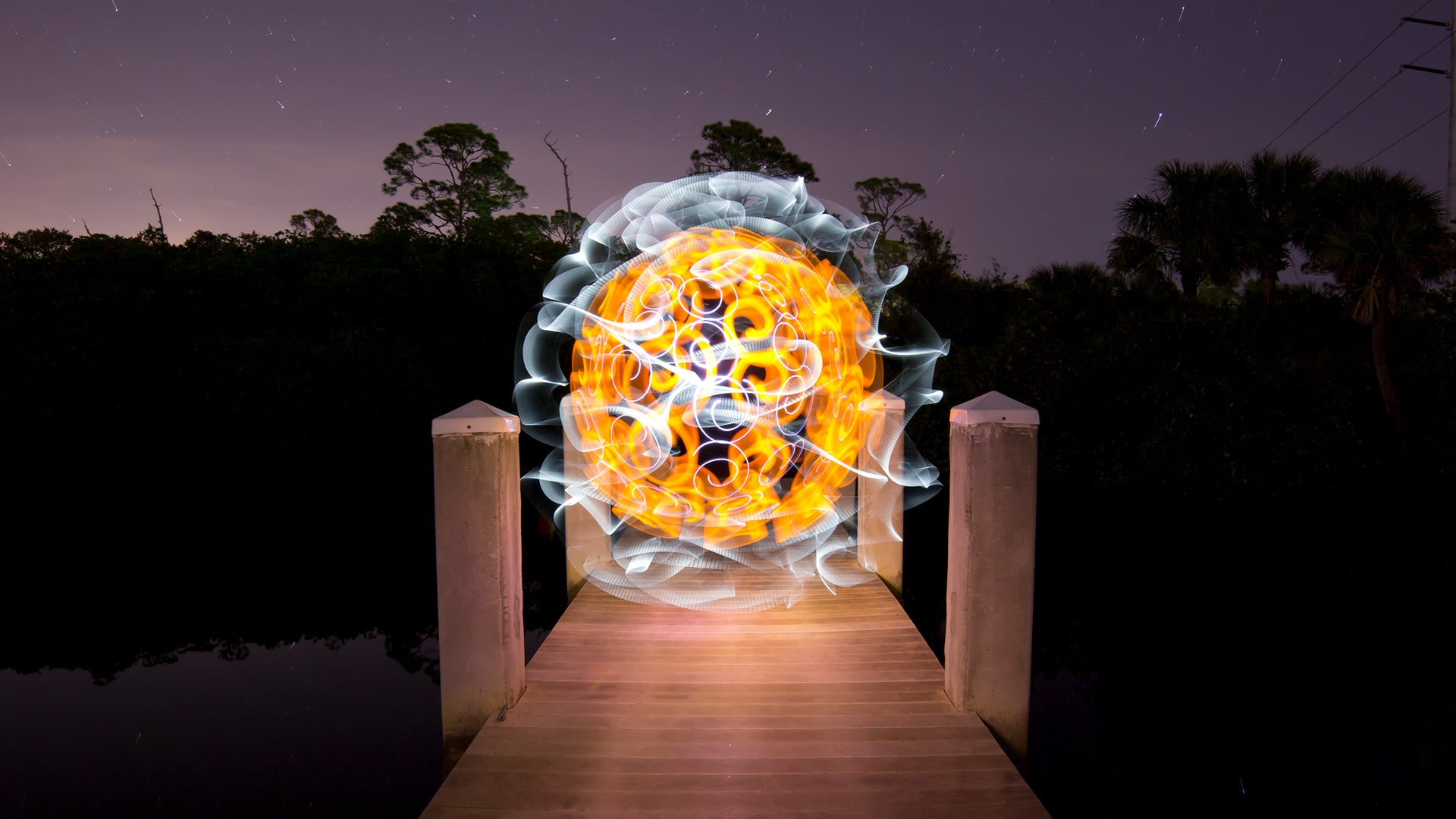 Light Painting Faberge Orb