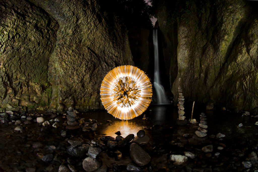 Light Painting Brushes Orb by Chris Bauer