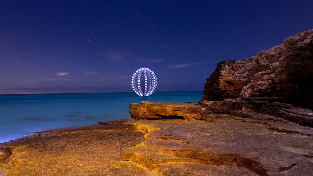 Orb Light Painting by Jason D. Page