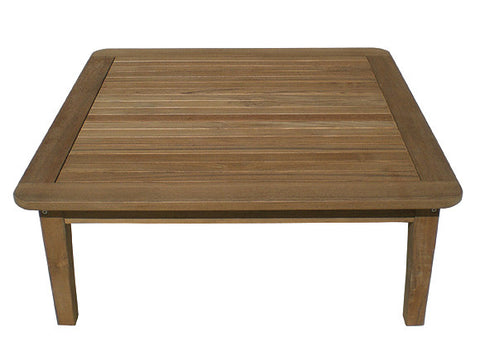 "Miami 42"" Square Coffee Table"