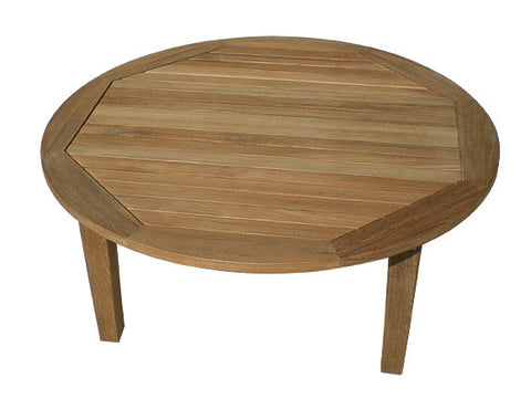 "Miami 42"" Round Coffee Table"