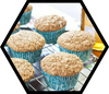 Honey Whole Wheat Bran Muffin Recipe