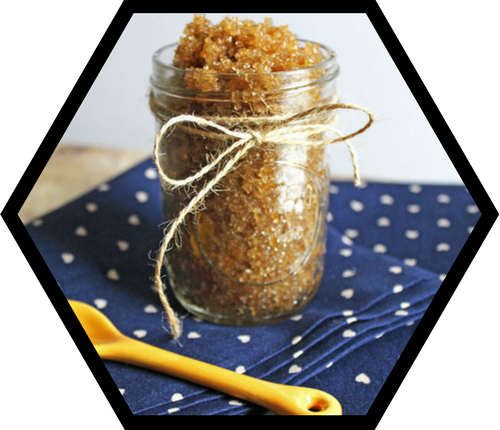 Super Simple DIY Honey Body Scrub