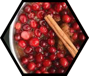 Honey Spice Cranberry Sauce