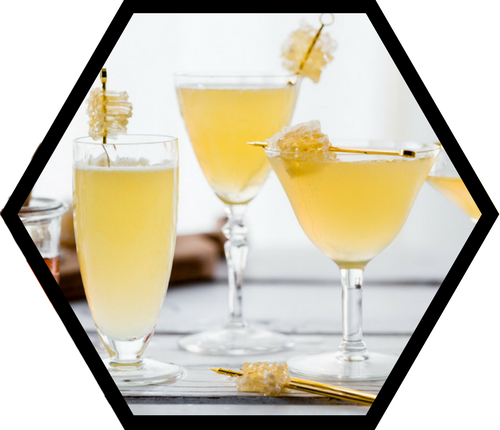 Honeycomb Gin Cocktail