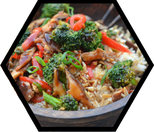 Ginger-Honey Stir fry