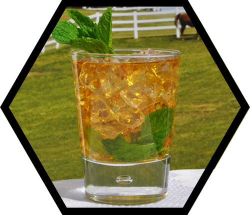 Mint Julep with Honey Simple Syrup