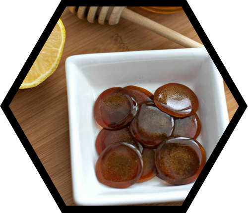 Homemade Propolis & Raw Honey Cough Drops - Stakich