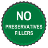 No preservatives or fillers