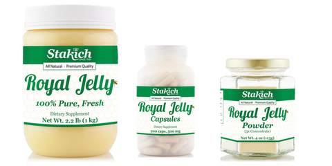 Stakich Royal Jelly All Natural