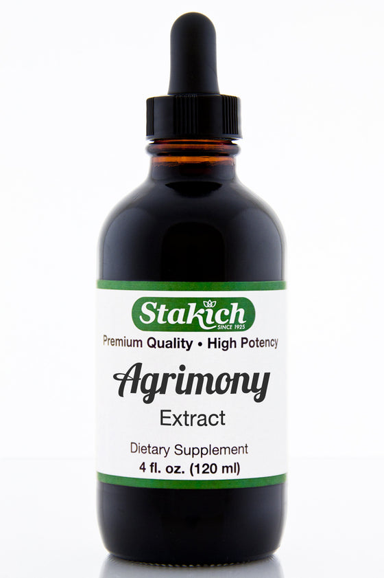 Stakich Agrimony Herbal Extract 4 oz