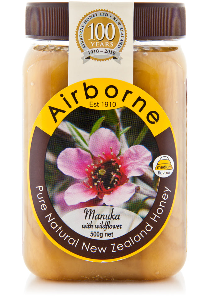 Case of Airborne Manuka Honey