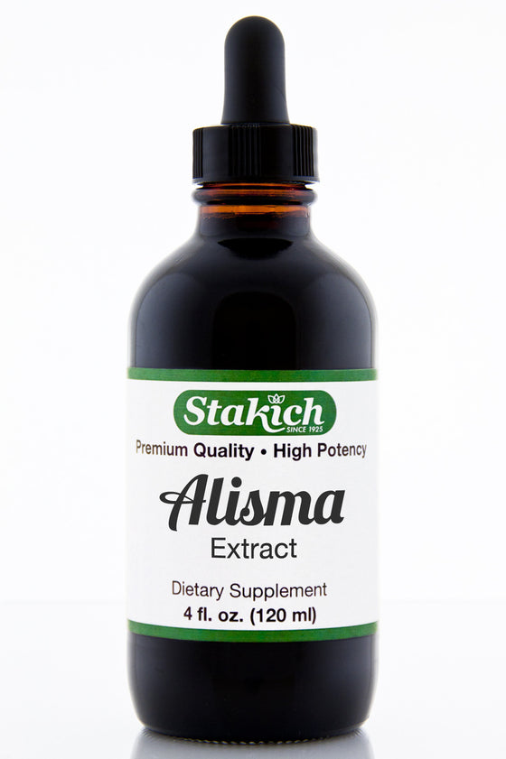 Alisma Herbal Extract Alcohol Free 4 oz